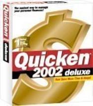 Quicken 2001 Deluxe - $18.80