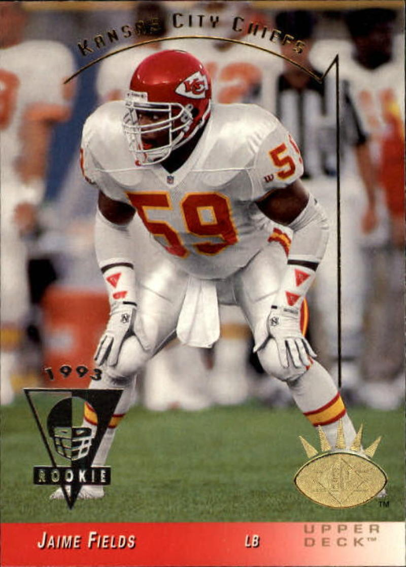 Primary image for 1993 SP #121 Jaime Fields NM-MT RC Rookie Chiefs