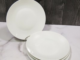 "Set of 4 Rosenthal Continental CLASSIC MODERN WHITE Salad Plates 7 5/8"" MCM - $29.70"