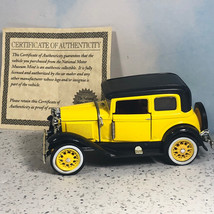 NATIONAL MOTOR MUSEUM MINT diecast model car 1930 Ford Crown Victoria ye... - $39.55