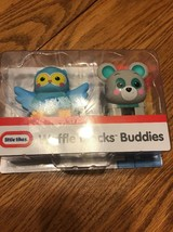 New Sealed Package: Little Tikes Waffle Blocks Block Buddies - Owl & Bear - $11.86