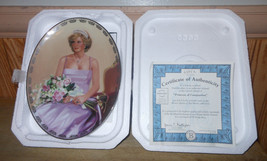 "Princess Diana ""Princess of Compassion"" Queen Of Our Hearts Collector Plate - $17.62"