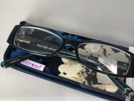 Foster Grant Coloread Fashion Reading Glasses w/ Case, Posh, Blue, +1.75 - $11.50