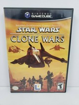 Star Wars: The Clone Wars (Nintendo GameCube, 2002) Complete Manual Test... - $15.62