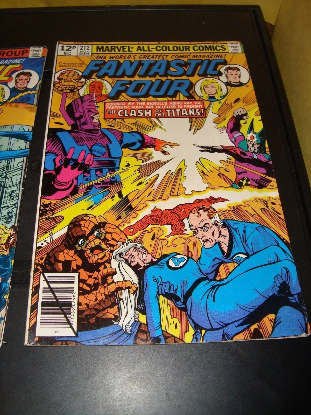 Fantastic Foour #212 & 216 Marvel Comic Book Lot Of 2 1979-80 FN Condition