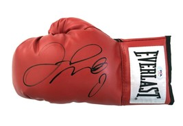 Floyd Mayweather Jr. Signed Red Everlast Left Boxing Glove PSA/DNA COA Autograph - $318.71