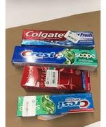 (4) Packs Crest + Colgate Toothpaste - $12.99