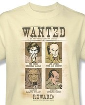 DC Comics Villians Wanted Poster T shirt Joker 100% cotton graphic tee DCO451 image 1
