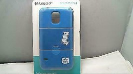 Logitech hard shell Magnetic mount compatible Case for Samsung Galaxy S5 blue - $6.66