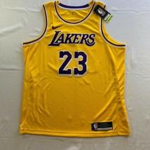 Nike LeBron James Lakers NBA Swingman Jersey Icon Edition 2020 Men's Size XL 52 - $98.95