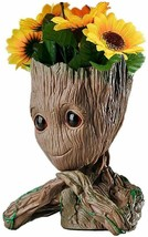 """Guardians of the Galaxy Groot 6"""" tall Pot for Succulents & Plants Superh... - $29.00"""