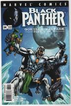 Black Panther #34 VF/NM 2001 Marvel Comics (1998 2nd series) M'Baku Whit... - $4.94