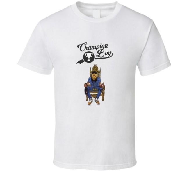 Alkaline champion boy dancehall t shirt
