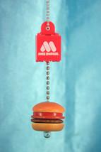 Bandai MOS Burger YuraYura Miniature Gashapon Figure Keychain MOS Burger  - $16.99