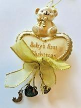Kurt Adler-Baby's First Christmas Ornament-Little Bear - $12.99