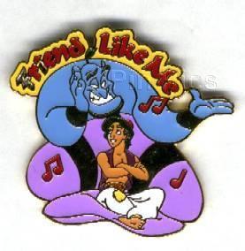 Disney Aladdin Magical Musical Moments pin/pins