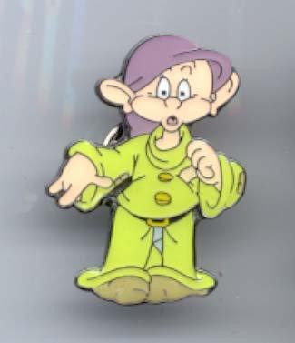 Disney Snow White Dopey dwarf full body Pin/Pins