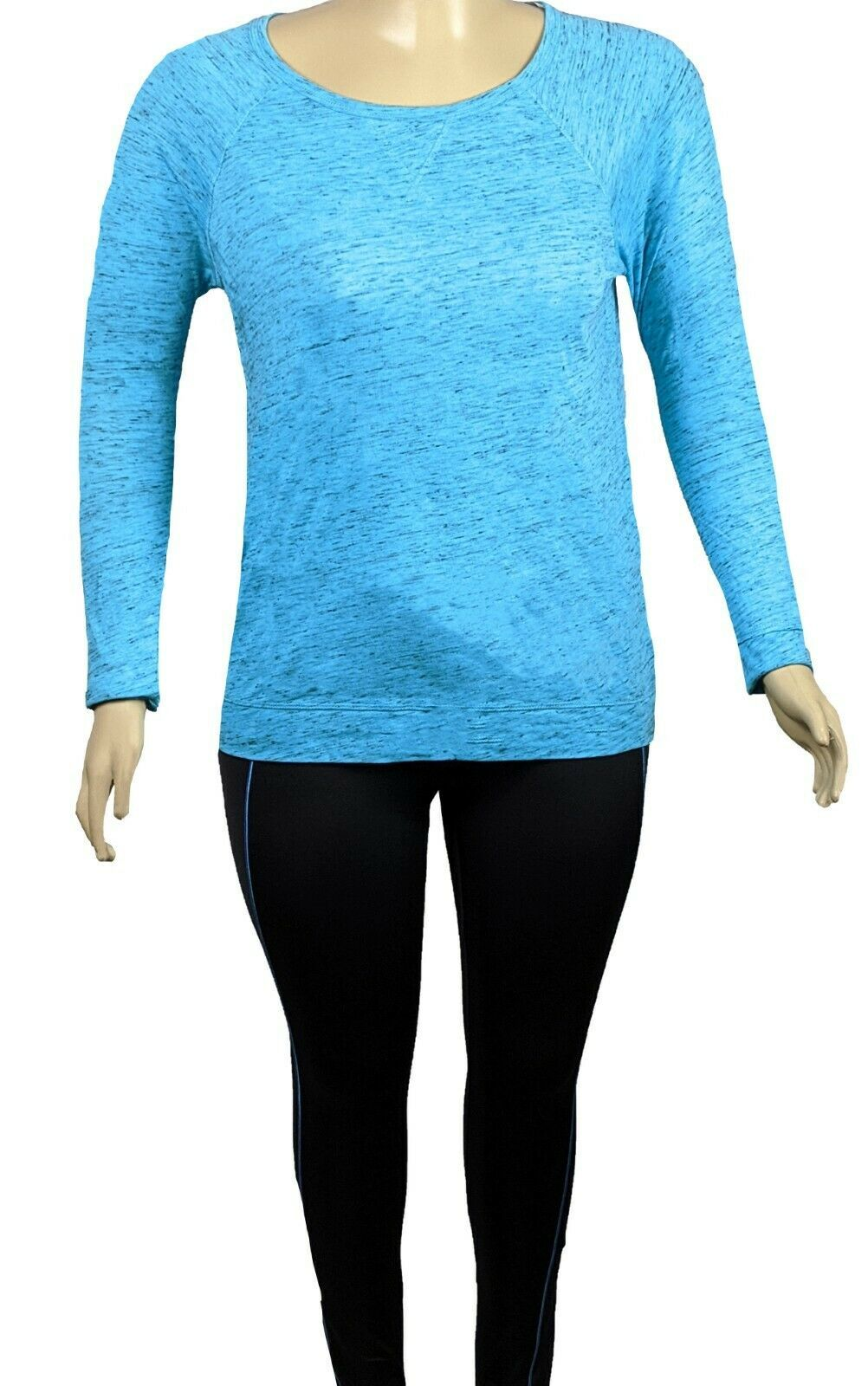 Primary image for Calvin Klein Long Sleeve Women Activewear Athletic Top Plus Size 0X 1X 2X 3X NWT