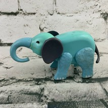 Vintage Fisher Price Replacement Blue Elephant Figure - $15.84