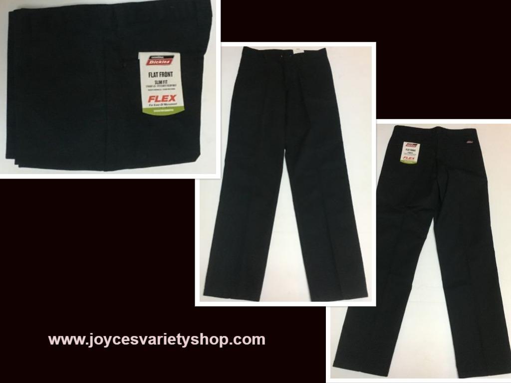 Dickies 30 x 32 black mens pants web collage