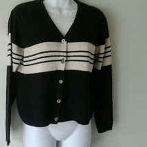 Sonoma womens Button Down sweater sz S - $11.07