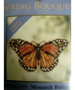 Mill Hill Spring Bouquet  Monarch Butterfly Counted Glass Bead Kit  MH18... - $5.49