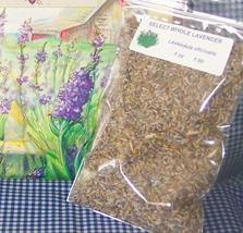 LAVENDER FLOWERS, WHOLE DRIED 2 oz - $6.50