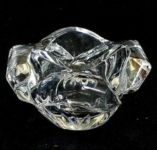 1 (One) Waterford Spring Garden Collection Crystal Rose Trinket Box - No Lid - $28.49
