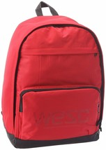 WeSC We are Superlative Conspiracy Cullen Lollipop Red Backpack School Bag NWT