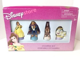 Disney Store Princess Beauty And The Beast Stamper Marker Set Philippe M... - $46.39