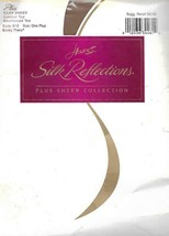 Hanes Silk Reflections One Plus Barely There Pantyhose Control Top Reinf... - $4.94