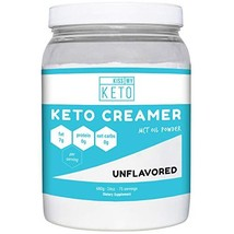 Kiss My Keto MCT Oil Powder C8 - Keto Creamer, 75 Servings, Zero Net Car... - $36.99