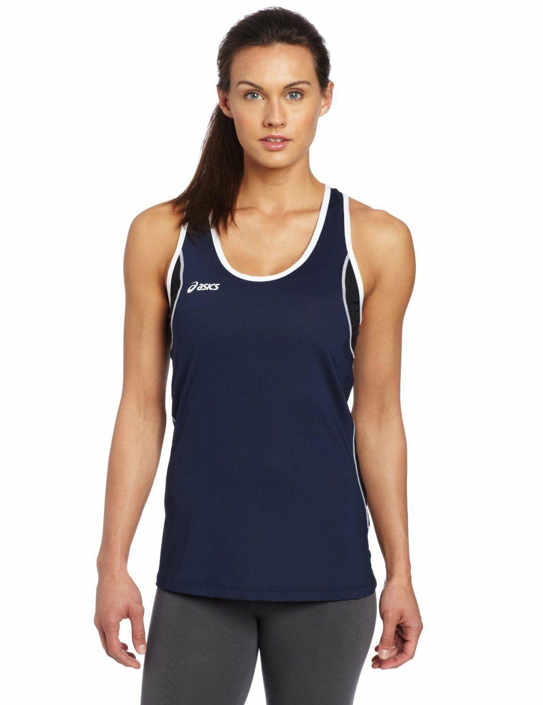Asics Women's Main Street Beach Tank Top Mesh Exercise Running BT1732 Size XL - $17.00