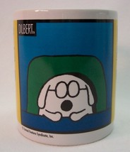 VINTAGE DILBERT DOG Let Me Drop Everything and Work on Your Problem MUG CUP - $14.85
