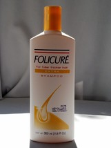 "1X - FOLICURE "" EXTRA "" Shampoo for Fuller Thicker Hair, 11.8 fl oz. - $11.99"