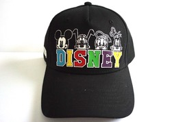 Disney Florida Heads Mickey Donald Goofy Adult Baseball Hat Cap Black Br... - $14.65