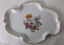 "Chamart Limoges France Porcelain Tray 13"" Long ... - $37.39"
