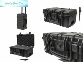 "Monoprice Weatherproof Hard Case with Customizable Foam, 22"" x 14"" x 10""   - $144.35"