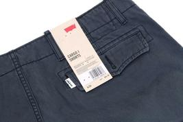 NEW LEVI'S MEN'S PREMIUM COTTON RELAXED FIT CARGO SHORTS CHARCOAL 124630177 image 3