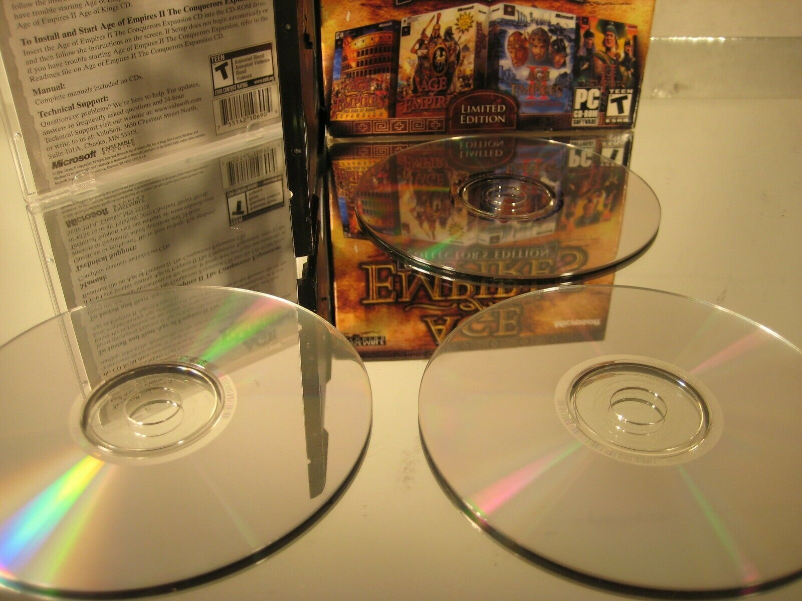 Age of Empires Collectors' Edition 2000 PC CDROM RTS Game image 5