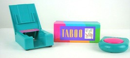 Vintage Taboo Board Game By Milton Bradley 1989 Tested And Works Missing... - $18.49