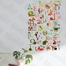 Animals' Alphabet - Wall Decals Stickers Appliques Home Dcor - $10.87