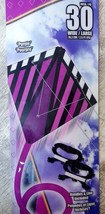 "X-Kites StuntDiamond 30"" Purple Dual Control Kite - New! - $11.79"