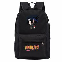 Naruto Theme Fighting Anime Series Backpack Schoolbag Daypack Bookbag Sasuke - $25.99
