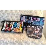 Vogue Magazine Print Keychain Ladies Fashion Travel Makeup Lipstick Beau... - $9.89