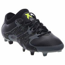 adidas Mens X 15.2 FG/AG Firm Ground/Artificial Grass Soccer Cleats Black/Solar - $69.99+