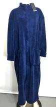 Alexander Del Rossa Womens XL Navy Blue Fleece Soft Zip-Front Bathrobe NEW - $67.05