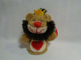 2003 Starbucks Lion Collector Finger Puppet #13 Kissing Magnet HTF - $4.70