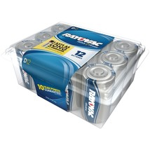 Rayovac Alkaline Batteries Reclosable Pro Pack (d, 12 Pk) RVC81312PPJ - $31.58