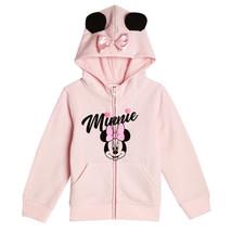 Minnie Maus Disney Reißverschluss Sweatshirt Kostüm Kapuze W / Ohren Siz... - $20.39